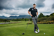Branden Grace photographed for Golf Digest USA at Fancourt Links. Grace is sponsored by Calloway among other generous sponsors.