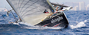 Team Alinghi and Team New Zealand at the America's Cup, Race 4