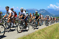 Annecy-Semnoz, France - Tour de France :: Stage 20 - 20-07-2013 - Peloton with QUINTANA on Cote du Pugot