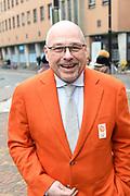 Officiele huldiging van de Olympische en Paralympische medaillewinnaars in de Grote Kerk of St. Jacobskerk, Den Haag.<br /> <br /> op de foto:  Maurits Hendriks