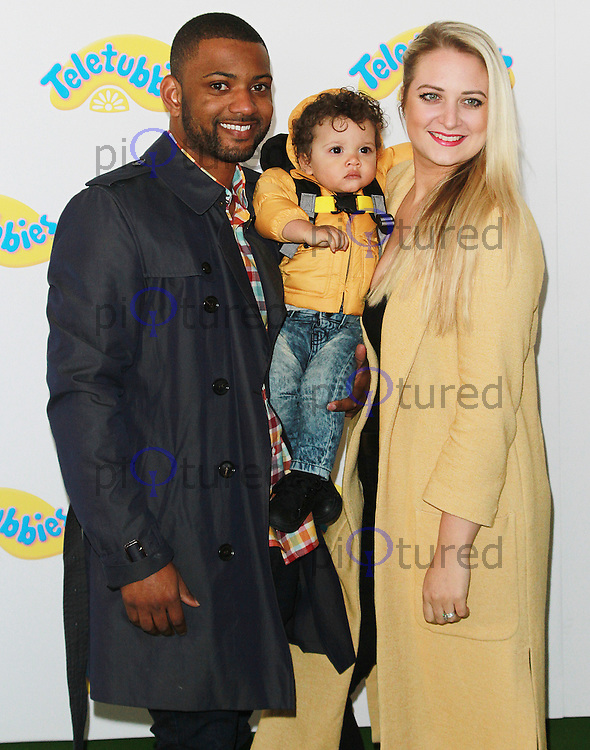 JB Gill & Chloe Tangney, Teletubbies - World Premiere, BFI Southbank, London UK, 25 October 2015, Photo by Brett D. Cove