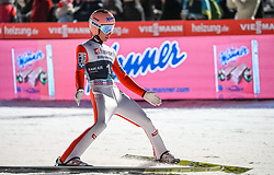 18.03.2017, Vikersundbakken, Vikersund, NOR, FIS Weltcup Ski Sprung, Raw Air, Vikersund, Team Skifliegen, im Bild Welrekordhalter Stefan Kraft (AUT), 253,5 m // Recordman Stefan Kraft of Austria, 253,5 m // during the Team Event of the 4th Stage of the Raw Air Series of FIS Ski Jumping World Cup at the Vikersundbakken in Vikersund, Norway on 2017/03/18. EXPA Pictures © 2017, PhotoCredit: EXPA/ Tadeusz Mieczynski
