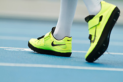 adidas Grand Prix Diamond League professional track & field meet: womens high jump, Nike spikes