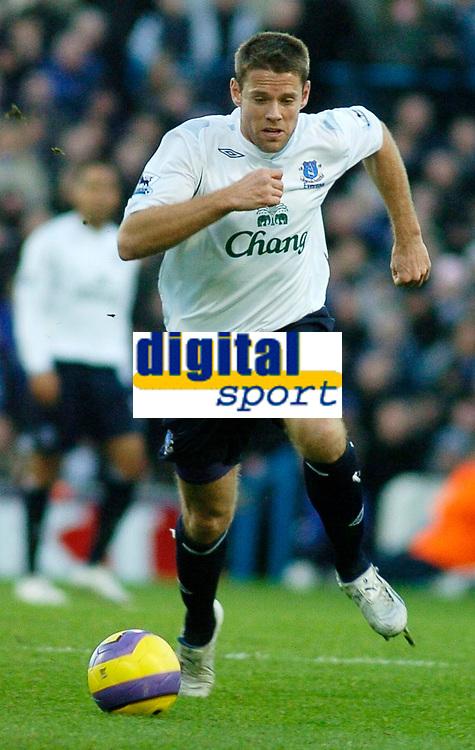 Photo: Gareth Davies.<br />Portsmouth v Everton. The Barclays Premiership. 09/12/2006.<br />Everton striker James Beattie.