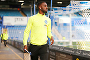 Mohamed Eisa before the EFL Sky Bet League 1 match between Portsmouth and Peterborough United at Fratton Park, Portsmouth, England on 7 December 2019.