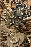 Warsaw Poland architecture detail on XIX century Mirowska Hall Fot Piotr Gesicki Gesicki