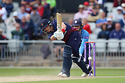 Lancashires Rob Jones during the Royal London 1 Day Cup match between Lancashire County Cricket Club and Derbyshire County Cricket Club at the Emirates, Old Trafford, Manchester, United Kingdom on 2 May 2019.