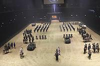 British Military Tournament Dress Rehearsal, Earls Court, London UK, 06 December 2013, Photo by Richard Goldschmidt
