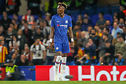 Chelsea forward Tammy Abraham (9) during the Champions League match between Chelsea and Valencia CF at Stamford Bridge, London, England on 17 September 2019.
