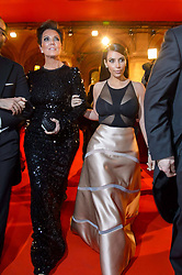 61147044<br /> Kim Kardashian and her mother Kris Jenner attend the traditional Vienna Opera Ball (Wiener Opernball), Vienna State Opera, Vienna, Austria, Thursday, 27th February 2014. Picture by  imago / i-Images<br /> UK ONLY