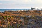 Late afternoon scene at Atlantic Beach, located along Emerald Isle on the North Carolina Crystal Coast