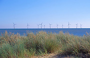 AYBR52 Scroby Sands offshore wind farm Caister Great Yarmouth Norfolk England