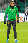 Scott Sinclair (#11) ahead of the Europa League match between Celtic and Rennes at Celtic Park, Glasgow, Scotland on 28 November 2019.