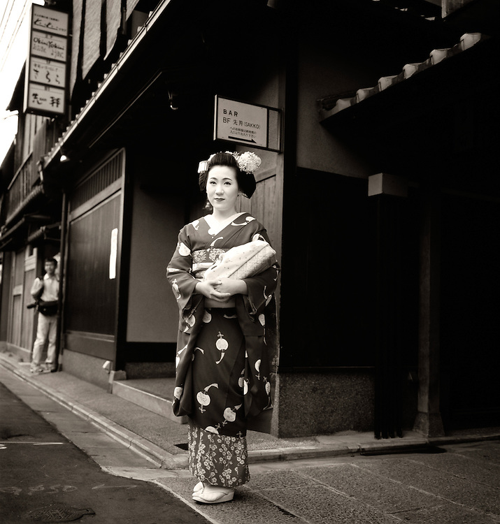 Geisha dans Gion