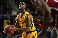 November 22, 2017 - Johnson City, Tennessee - Freedom Hall: ETSU guard Desonta Bradford (1)<br /> <br /> Image Credit: Dakota Hamilton/ETSU