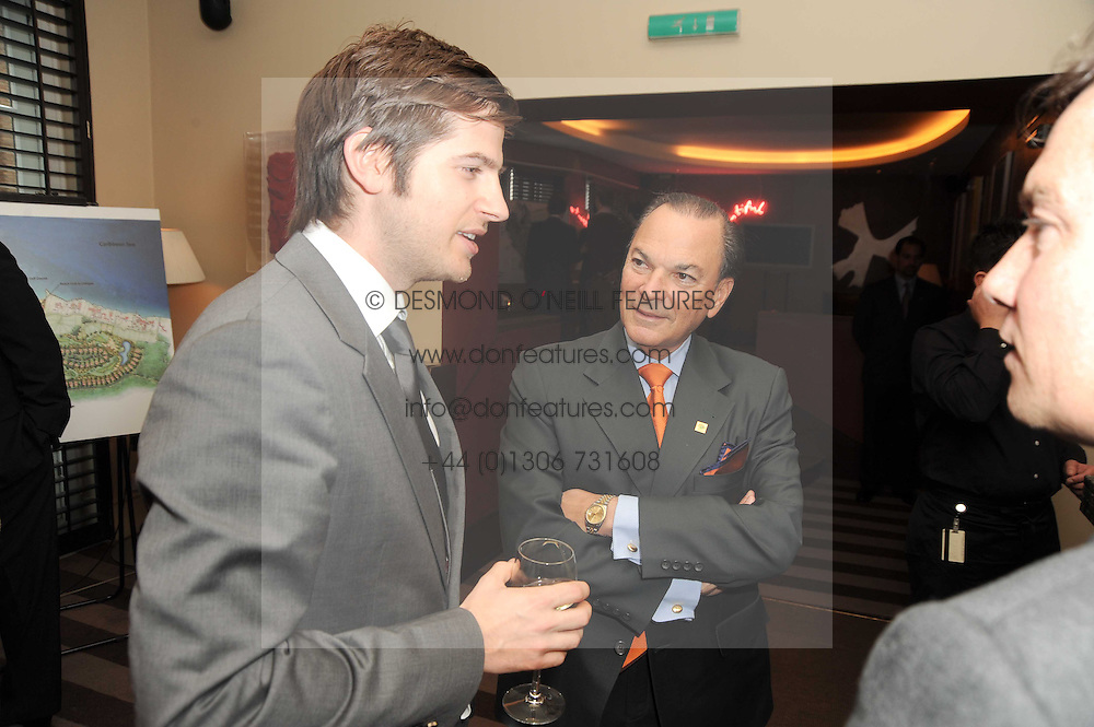 A party to promote the exclusive Puntacana Resort & Club - the Caribbean's Premier Golf & Beach Resort Destination, was held at The Groucho Club, 45 Dean Street London on 12th May 2010.<br /> <br /> Picture shows:-JACK FREUD and FRANK RAINIERI