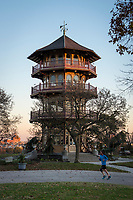 Patterson Park Pagoda, Baltimore Maryland.