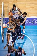 Abass Awudu Abass<br /> Pallacanestro Cantu' - Basket Leonessa Brescia<br /> Basket Serie A LBA 2018/2019<br /> Desio 07 April 2019<br /> Foto Mattia Ozbot / Ciamillo-Castoria