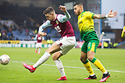 Burnley defender Matthew Lowton (2) during the The FA Cup match between Burnley and Norwich City at Turf Moor, Burnley, England on 25 January 2020.