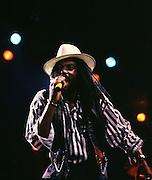Aswad UK Reggae Band - Drummie of Aswad live in London 1987