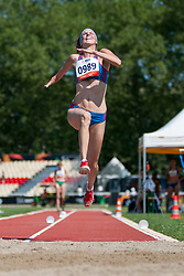 GAJARSKA Lenka, SVK, Long Jump, T46, 2013 IPC Athletics World Championships, Lyon, France