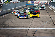 March 16-18, 2017: Mobil 1 12 Hours of Sebring. Start of the Mobil 1 12 hours of Sebring GT class