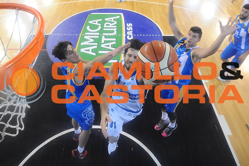 Michele Vitali<br /> Germani Basket Brescia - Betaland Capo D'Orlando<br /> LegaBasket 2016/2017<br /> Brescia 05/11/2016<br /> Foto Ciamillo-Castoria