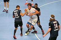 Alexander Lynggaard / Zacharia N Diaye - 28.05.2015 - PSG / Saint Raphael - 25eme journee de D1<br />Photo : Andre Ferreira / Icon Sport