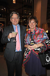 The HON.DOMINIC & HON.ROSA LAWSON at a party to celebrate the launch of Simon Sebag-Montefiore's new book - 'Jerusalem: The Biography' held at Asprey, 167 New Bond Street, London on 26th January 2011.