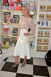 OLIVIA BUCKINGHAM at a party to launch Biscuiteers Fashion Biscuit Collection inspired by Alice Naylor-Leyland's wardrobe held at Biscuiteers, 194 Kensington Park Road, London W11 on 23rd June 2015.