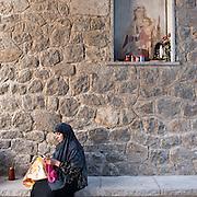 Riace, Calabria, Italia, aug. 2010. Refugees received in Riace. Riace il paese che accoglie rifugiati. Mari (Afghanistan, 41)