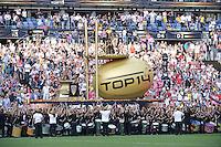 ceremonie d arrivee du bouclier de brennus  - 13.06.2015 - Clermont / Stade Francais - Finale Top 14<br />Photo : Nolwenn Le Gouic / Icon Sport