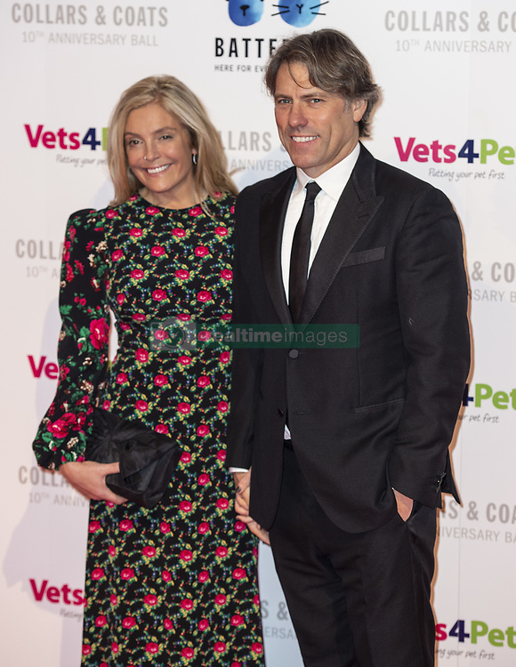 November 1, 2018 - London, United Kingdom - Melanie and Jon Bishop attends the Battersea Dogs & Cats Home Collars & Coats Gala Ball 2018 at Battersea Evolution. (Credit Image: © Gary Mitchell/SOPA Images via ZUMA Wire)