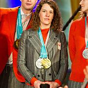 NLD/Den Haag/20180323 - Huldiging Olympische en Paralympische medaillewinnaars, Ireen Wust en Sven Kramer