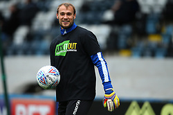 Sam Slocombe of Bristol Rovers wears a 'Kick it Out' shirt - Mandatory by-line: Robbie Stephenson/JMP - 21/10/2017 - FOOTBALL - Crown Oil Arena - Rochdale, England - Rochdale v Bristol Rovers - Sky Bet League One