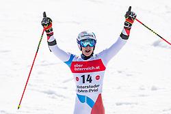 02.03.2020, Hannes Trinkl Weltcupstrecke, Hinterstoder, AUT, FIS Weltcup Ski Alpin, Riesenslalom, Herren, 2. Lauf, im Bild Marco Odermatt (SUI) // Marco Odermatt of Switzerland reacts after his 2nd run of men's Giant Slalom of FIS ski alpine world cup at the Hannes Trinkl Weltcupstrecke in Hinterstoder, Austria on 2020/03/02. EXPA Pictures © 2020, PhotoCredit: EXPA/ Johann Groder