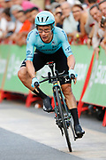 Miguel Angel Lopez (COL - Astana Pro Team) during the UCI World Tour, Tour of Spain (Vuelta) 2018, Stage 1, individual time trial, Malaga - Malaga (8km) in Spain, on August 26th, 2018 - Photo Luis Angel Gomez / BettiniPhoto / ProSportsImages / DPPI