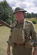 Home Guard sergeant at Living History event.