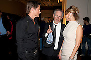 ROB LOWE; STEVEN SPIELBERG; KATE CAPSHAW, A Living man declared Dead and Other Chapters. Taryn Simon. Tate Modern, London. 24 May 2011. <br /> <br />  , -DO NOT ARCHIVE-© Copyright Photograph by Dafydd Jones. 248 Clapham Rd. London SW9 0PZ. Tel 0207 820 0771. www.dafjones.com.