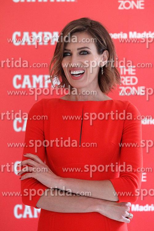 11.06.2015, Hotel Hesperia, Madrid, ESP, Nieves Alvarez er&ouml;ffnet erste Campari Red Suite, im Bild das spanische Model Nieves Alvarez // during the opening of Campari Red Suite at Hotel Hesperia in Madrid, Spain on 2015/06/11. EXPA Pictures &copy; 2015, PhotoCredit: EXPA/ Alterphotos/ Acero<br /> <br /> *****ATTENTION - OUT of ESP, SUI*****