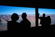 Looking out into the Grand Canyon from Yavapai Point, Grand Canyon National Park, Arizona