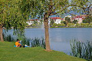 Nurigeli lake, Batumi, Georgia