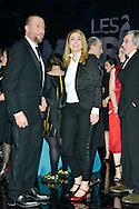 Julie Gayet et François Damiens lors de la cinquième cérémonie des Magritte du cinéma belge. De nombreuse personnalités du cinéma étaient présentes pour cette édition. Notamment Julie Gayet, Pierre Richard (Magritte d'Honneur), François Damiens, Thierry Lhermitte mais également SAR le Prince Laurent et la Princesse Claire de Belgique