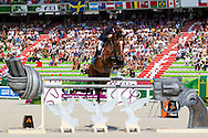 Jamie Kermond, (AUS), Quite Cassini, World Champions, - Second Round Team Competition - Alltech FEI World Equestrian Games&trade; 2014 - Normandy, France.<br /> &copy; Hippo Foto Team - Leanjo De Koster<br /> 25/06/14