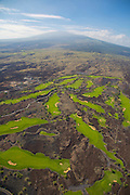 Golf Course, Kohala Coast, Big Island of Hawaii