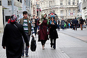 Estambul istiklal caddesi