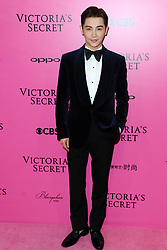 Sun Jian attending the Pink Carpet prior to the Victoria's Secret Fashion Show at the Mercedes-Benz Arena Shanghai in Shanghai, China.