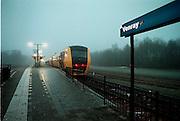 Nederland, Venray, 12-1998N.S. Station, Trein in regioFoto: Flip Franssen/Hollandse Hoogte
