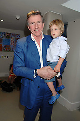 BERTIE WAY and his son BEN at a party to celebrate the 21st birthday of the children's charity Starlight held at Maggie & Rose, 58 Pembroke Road, London W8 on 12th May 2008.<br /><br />NON EXCLUSIVE - WORLD RIGHTS