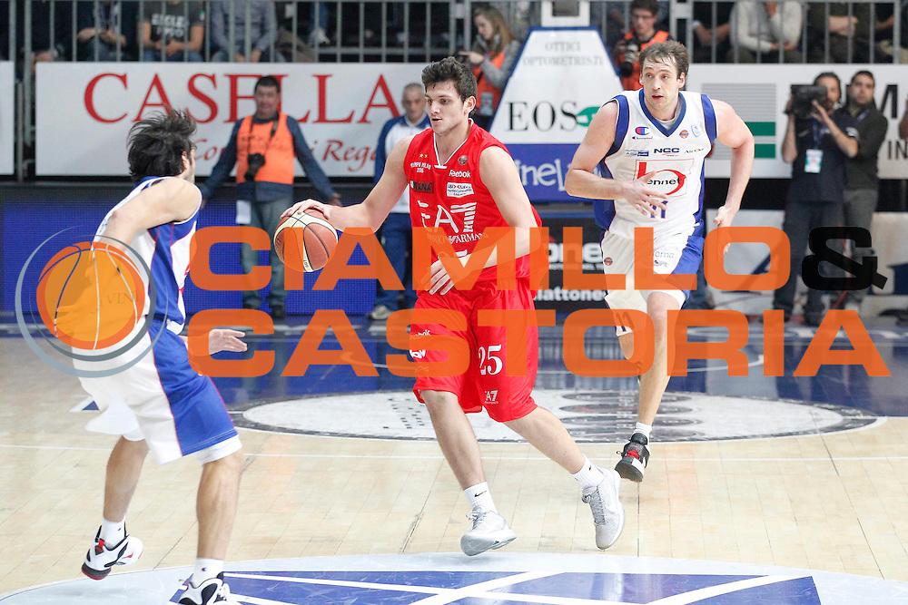 DESCRIZIONE : Cantu Campionato Lega A 2011-12 Bennet Cantu EA7 Emporio Armani Milano<br /> GIOCATORE : Alessandro Gentile<br /> CATEGORIA : Palleggio<br /> SQUADRA : EA7 Emporio Armani Milano<br /> EVENTO : Campionato Lega A 2011-2012<br /> GARA : Bennet Cantu EA7 Emporio Armani Milano<br /> DATA : 26/12/2011<br /> SPORT : Pallacanestro<br /> AUTORE : Agenzia Ciamillo-Castoria/G.Cottini<br /> Galleria : Lega Basket A 2011-2012<br /> Fotonotizia : Cantu Campionato Lega A 2011-12 Bennet Cantu EA7 Emporio Armani Milano<br /> Predefinita :